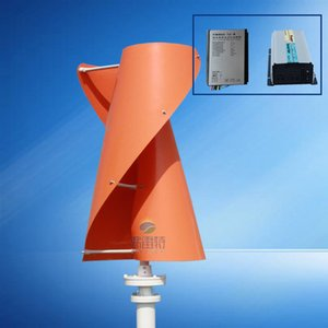 free energy wind turbine generator 300w 12v 24v vertical axis wind turbine with 300w wind charge controller and 1000w inverter