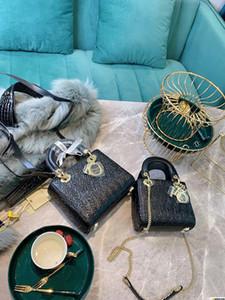 dior women bag 2020 borsa a spalla di lusso del progettista di hococal Nuove uscite principessa sacchetto di alta qualità del nuovo delle donne Rosso Bianco Nero Borsello