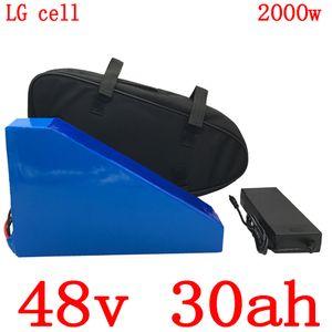 caricatore del telefono mobile LG 1000W 2000W 48V 30AH 48V 30AH elettrico ebike della batteria della bici della batteria 48V litio uso ione con BMS + 5A 50A