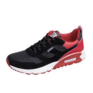 de Sneakers Homens SAGACE Casual Patchwork viagem antiderrapante Shoes Fashion Low tornozelo Lace-up macio correndo Desportos de Verão Shoes X0103