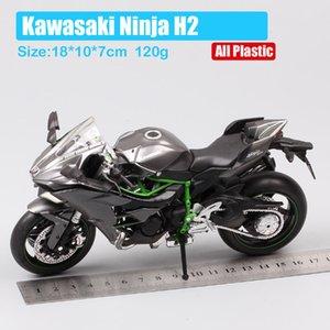 çocuk koleksiyonu Y200317 için 1/12 AutoMaxx Kawasaki Ninja H2 supersport bisiklet h2r ölçekli motosiklet Diecasts Oyuncak Araçlar modeli küçük resimler