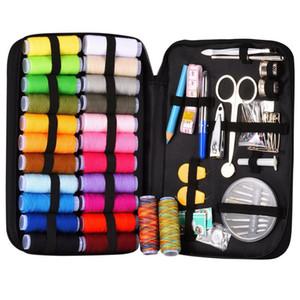 Nähkit mit 94 Nähzubehör, 24 Spulen von Thread -24 Farbe, Kits für Anfänger, Reisende, Notfall, Ganze FAMI