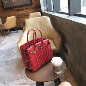 2019 top concepteur sac chaîne sac haute couture crocodile cuir qualité boucle métal sacs à grain unique épaule achats sac à main banquet