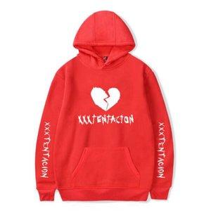 Herrenkleidung XXXTENTACION Herren Langarm-Sweatshirts 6 Farben Hip Hop Pullover mit 6 verschiedenen Arten Large Size 2XS-4XL