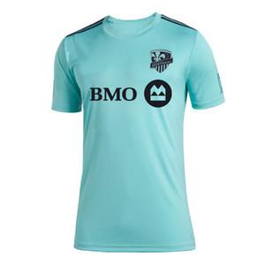 L'impatto Nuova Montreal 2019 Parley Jersey 2019 2020 Parley MLS Montreal Impact Jersey di calcio degli uomini delle donne 19 20 MLS Parley maglie formato S-4XL