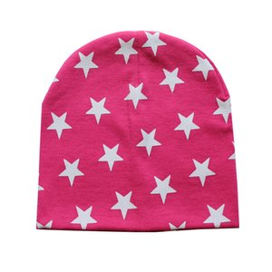 1 Piece Winter Autumn Spring Crochet Baby Star Hat Girls Boys Cap Beanie Infant Lycra Toddlers Hat Children Kids Clothes