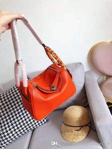 Litchi Grain Handbag 2019 New Genuine Leather Female Shoulder Bag The Doctor Medicine Packing Women Bags Designer Handbags Tote Purses