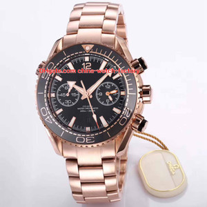 8 Style Best Quality Watch BF Versione 45.5mm Planet Ocean Co-Axial 600 M 215.23.46.51.03.001 Orologi da uomo automatici svizzeri CAL.9900 Movimento