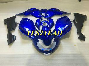Kit de carrocería de carenado de motocicleta para BMW K1200S 05 06 07 08 K1200S 2005 2006 2007 2008 ABS Carenados azul carrocería + Regalos BA12
