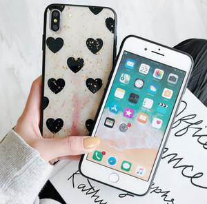 Cute Love Shape Hard TPU Case For iPhone XS XR XS MAX Case For iPhone X 6 6S 7 8 Plus Case 2018 New Arrival