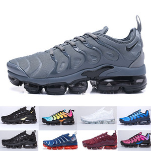 nike Vapormax Tn plus air max airmax TN Plus Scarpe da corsa per uomo Donna Royal Smokey Mauve String Colorways Olive in design metallizzato Triple Bianco Nero Trainer Sport