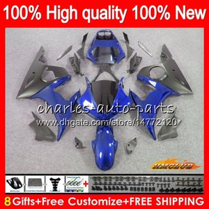 Body+8Gifts For YAMAHA YZF R6 S YZF600 YZFR6S 06 07 08 09 60NO.95 YZF-600 YZF R6S 06-09 YZF-R6S 2006 2007 2008 2009 Fairing Kit light blue