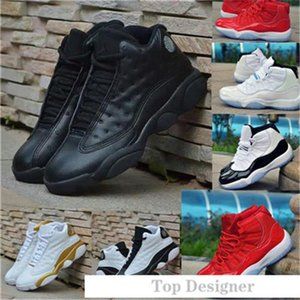 2020 new cap and gown mens basketball shoes Atmosphere Grey bred black cat He Got Game flint luxury designer men shoes