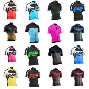 NW Team Cycling Short Sleeves jersey 2020 Summer Men Breathable Quick Dry Bicycle riding shirt outdoor sportswear C702-3