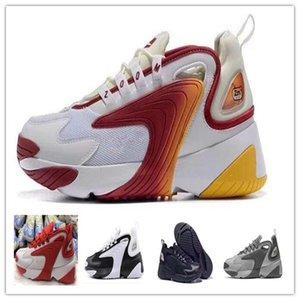 2019 M2K Tekno hava Yakınlaştırma 2K ZM 2000 Erkekler Yaşam Koşu Ayakkabı Erkekler Kadınlar Açık spor Sneakers ayakkabı boyutu 36-45 yürüyen çalıştırmak