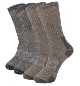 Alta Qualidade caminhada / esqui Meias de lã Merino Socks Homens / Mulheres Outdoor Sports Merino Wool Socks Man térmica provaï respirável Odor