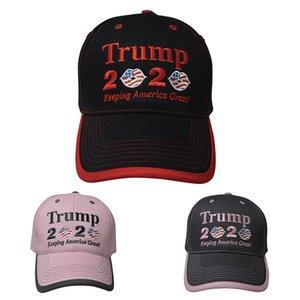 Yeni Stiller Kadınlar Trump 2020 Beyzbol şapkası Cumhurbaşkanlığı Trump Şapka Amerika Büyük Seçim Kampanyası Hat 100pcs T1I1984 tutulması