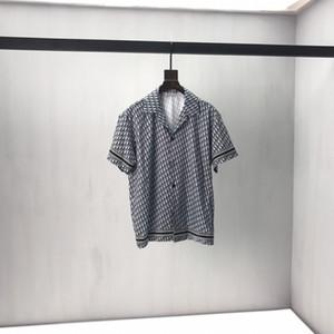 2020ss primavera e l'estate nuovo cotone di alta qualità di stampa manica corta rotonda pannello collo T-shirt Dimensione: m-L-XL-XXL-XXXL Colore: nero bianco DV56
