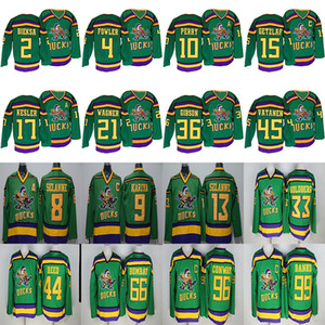 Mighty Ducks Movie CCM Vintage jerseys 99 Adam Banks 96 Charlie Conway 9 Paul Kariya 15 Getzlaf 66 Gordon Bombay Hockey Jersey