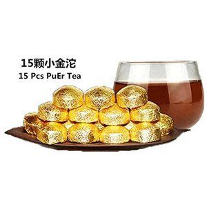 75g Ripe Puer Tea Yunnan mini golden tuocha Puer Tea Organic Pu'er Old Tree Cooked Puer Natural Puerh Black Puerh Tea