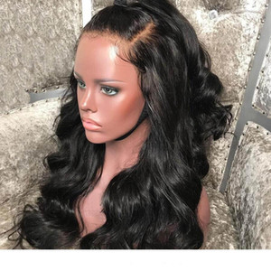 Glueless Full Lace WigsPreplucked With Baby Hair Lace Front Human Hair Wigs Brazilian Body Wave Wig For Black Women