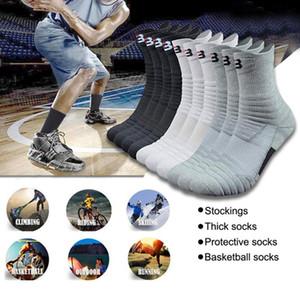 velonoski Profesyonel Basketbol Spor Çorap Kış Kalın Doğa Sporları Spor Sıkıştırma Çorap Chaussette Homme Spor