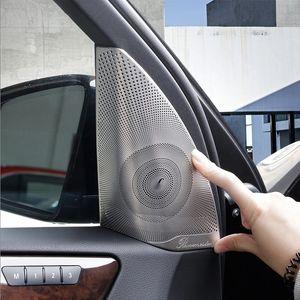 Mat Araba Kapı Ses Hoparlör Kapak Trim için Mercedes Benz ML GL Class GLS GLE X204 X166 W166 2adet Oto Aksesuarları