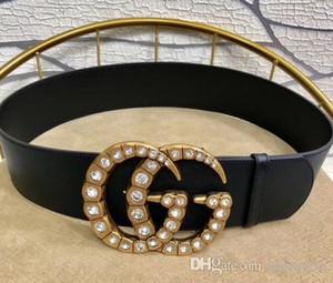 alta calidad del negocio del diseñador nuevo estilo caliente de cuero importados caja de moda para mujer de lujo con el diseñador de moda Cinturones ser de 7 cm de ancho