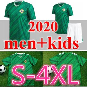 newest Thai quality 2020 2021 Northern Ireland 2020 Northern Ireland Soccer Jerseys home EVANS LEWIS MAN KIDS football shirts
