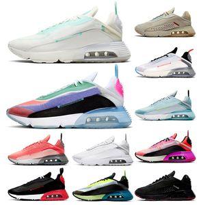 tenis MAX 2090 zapatos para correr CALIDAD SUPERIOR Hombres Zapatillas de deporte para mujer Be True Pure Platinum Outdoors Zapatillas deportivas para hombres