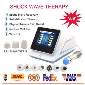 발기 부전 ESWT 남성 비뇨기과 충격파 치료 장치 음경 확대 기계 (7 개) 송신기와 ED에 대한 / 일입니까 드 choque 기계