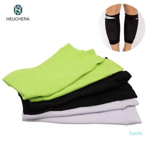 Wholesale- wholesale Men's Professional Soccer Shin Pads Holder Instep Foot Socks Guard Football Shin Pads Stays Shin Guards Lock Sleeves