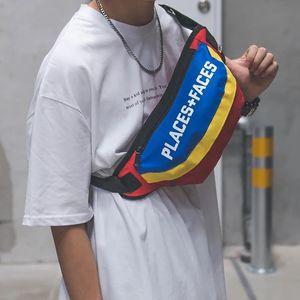Mode Frauen Männer Gürteltasche Lässige Unisex Taille Taschen Funktionelle Gürteltasche Gürteltasche Reißverschluss Beutel Wasserdichte Reise Umhängetasche