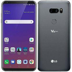 """الأصل LG V35 شيء becouse لاني 6.0 """"بوصة الهاتف 6GB 64GB الثماني النواة كاميرا مزدوجة بصمة مقفلة مجدد موبايل"""