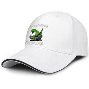 T-Rex Dinosaur Ненавидит Deadlifts Baseball регулируемого Sandwich Hat гольф прохладно Персонализированный крышка Unstoppable T-REX Sad Rex Ну Crap смешные Ups