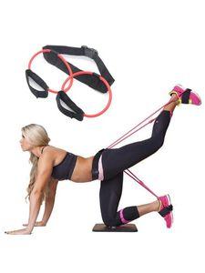 Yoga Butt-Lift Resistance Band Bein dünne Hüfte Lifting elastisches Seil Home Fitness Resistance Band Weiblich schnelle Lieferung