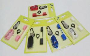 전자 cig 끈 목걸이 평면 vape 포드 휴대 키트 실리콘 vape 밴드 방진 캡 SMPO MT 코코 Vape 펜 홀더 키 체인