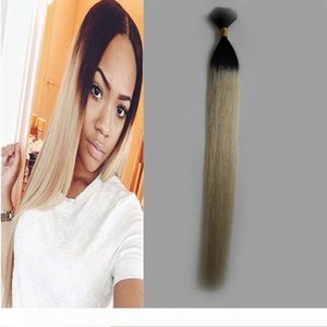 A 8a grade human hair for braiding 100g human hair for braiding bulk no attachment 1 pcs T1B 613 ombre human hair