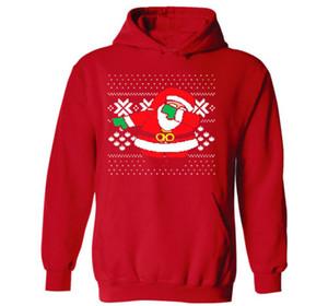 재미 산타 후드 스웨트 추악한 크리스마스 스웨터 긴 소매 후드 가을 겨울 S-3XL Dropshipping를 탑