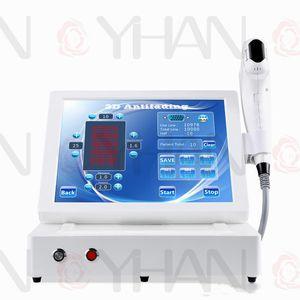 Yeni 3D HIFU yüz kaldırma kırışıklık kaldırma yüksek yoğunluklu odaklı ultrason HIFU vücut zayıflama cilt kaldırma odaklı