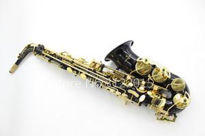 Новый Yanagisawa A-992 Латунь Альт-Саксофон Eb Мелодия Музыкальный Инструмент Черный Никелированный Корпус Золотой Лак Ключ Саксофон