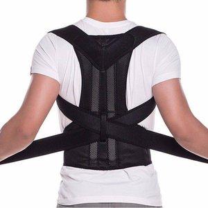 Correzione Meihuida Ortesi corsetto gancio posteriore Postura sport della cinghia magnetica postura superiore della schiena sostegno della spalla Corrector