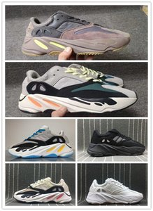2019 New 700 mauve running shoes mens best quality wave casual Kanye West designer sneakers men womens 2019  boots baske v2 350 boost