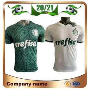 20/21 Player version Palmeiras L.ADRI Soccer Jersey 2020 Accueil vert BORJA football maillot extérieur # 7 uniformes de football DUDU Palmeiras