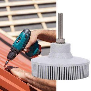 3 pouces Bristle outils disque Emery caoutchouc Brosse abrasive ébavurage polissage Meule main