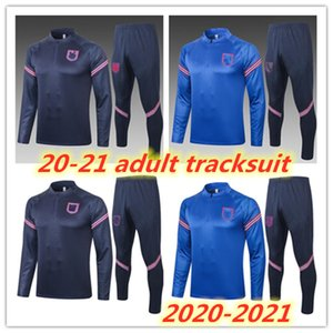 20 21 Survetement adultes Survêtement 2020 2021 Angleterre KANE Rashford STERLING ensemble veste Wilshere de football costume formation Jeux de football