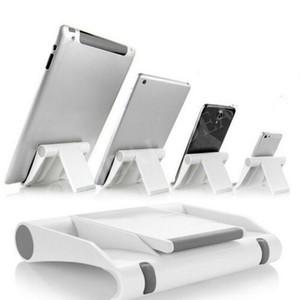 Soporte de ángulo ajustable portátil Soporte de cuna Soporte de teléfono de escritorio flexible Soporte de soporte Soporte para teléfono móvil Tableta plana