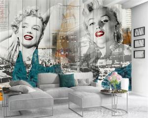 Photo Wallpaper de Noble Marilyn Monroe Déesse du peuple HD Imprimé soie fine Fond d'écran