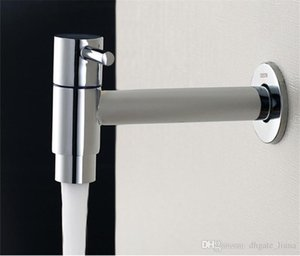 Recém Chrome Extra longo Lavandaria Banho Wetroom Kitchen Sink Wall Mount torneira Bacia bibcocks Cold Water Faucet Mop Piscina Taps