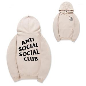 Hip europeo y americano de moda de la calle Hop chaqueta de impresión de letras punto de los hombres de manga larga con capucha S-2XL1
